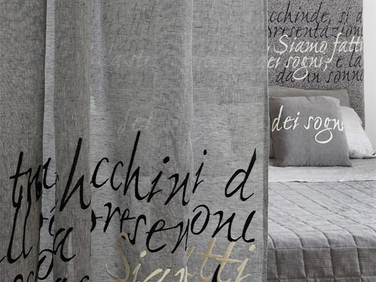 Lyrics e poems tende in lino d ispirazione poetica for Tende con scritte
