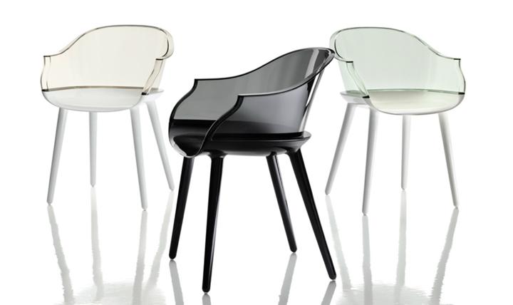 9 sedie bianche cool arredo e convivio for Sedie bianche design