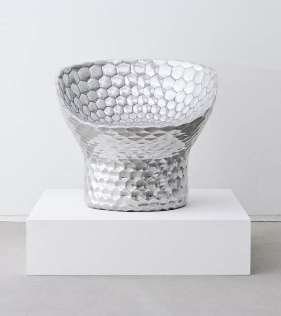Silver Hex Chair di Michael Young - By Modernity