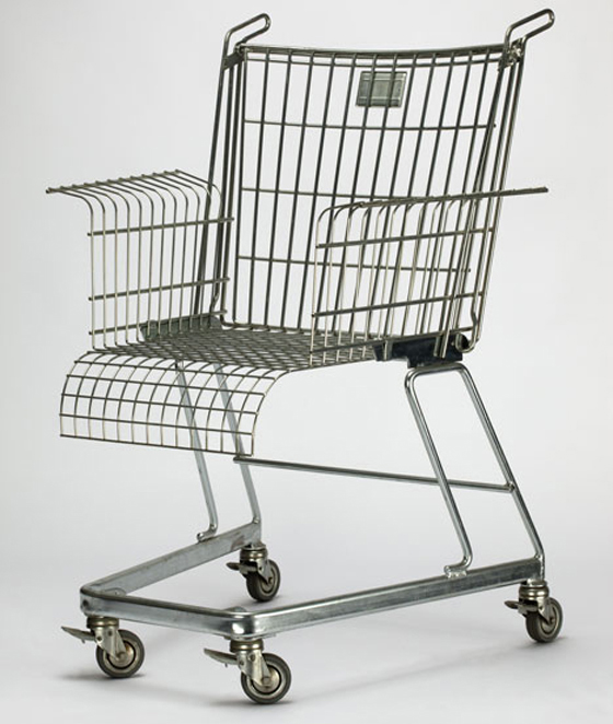 Trolley, Consumer's rest chair by Frank Schreiner