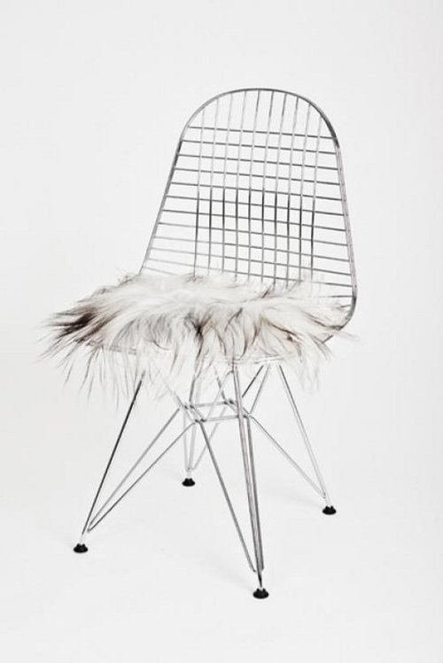 Wire Chair Vitra Charles Eames 1951 rivisitata