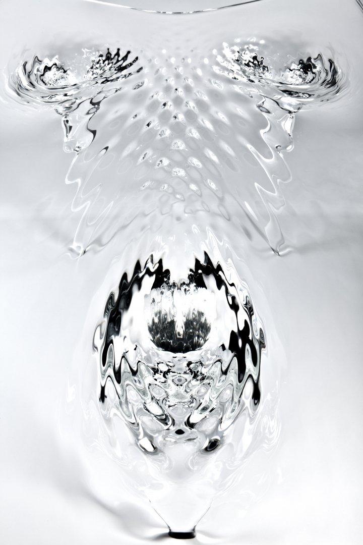 Liquid Glacial Table by Zaha Hadid