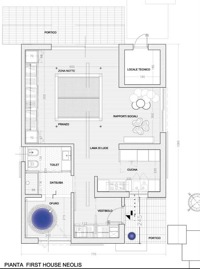 FIRST HOUSE NEOLIS® Pianta soluzione 1