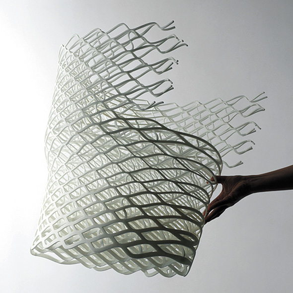 diamond chair by nendo