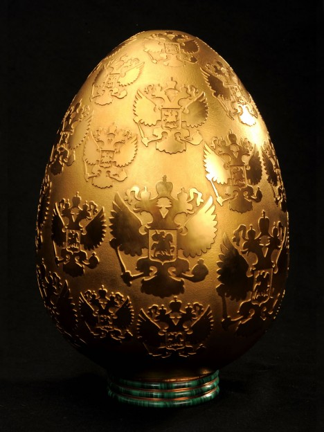 Le uova di porcellana di Peter Nebengaus