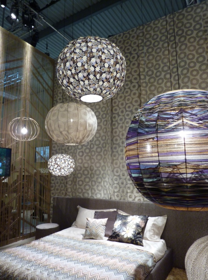 Missoni home Salone del Mobile di Milano 2013