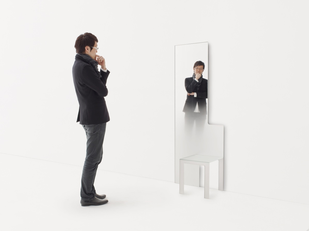 Dilmos MIRROR CHAIR - Nendo