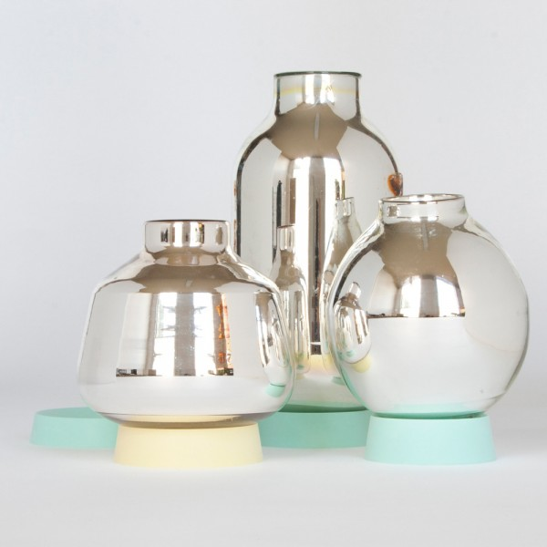 David Derksen: glassware Flask-Vase