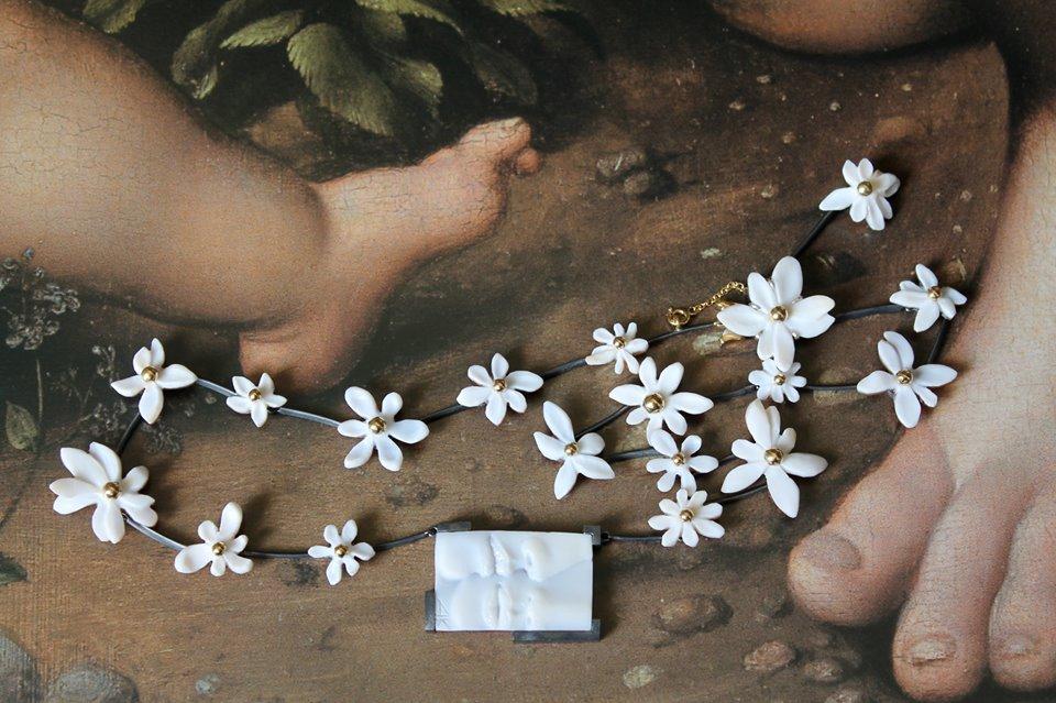 LEI -collana - collezione Fioremio: Agnieszka Kiersztan 2013
