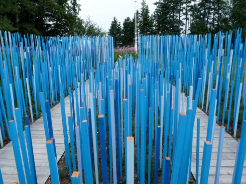 Blue Stick Garden