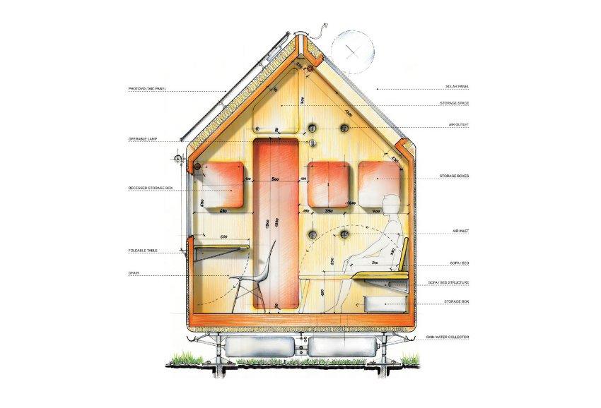 """DIOGENE"", Renzo Piano"