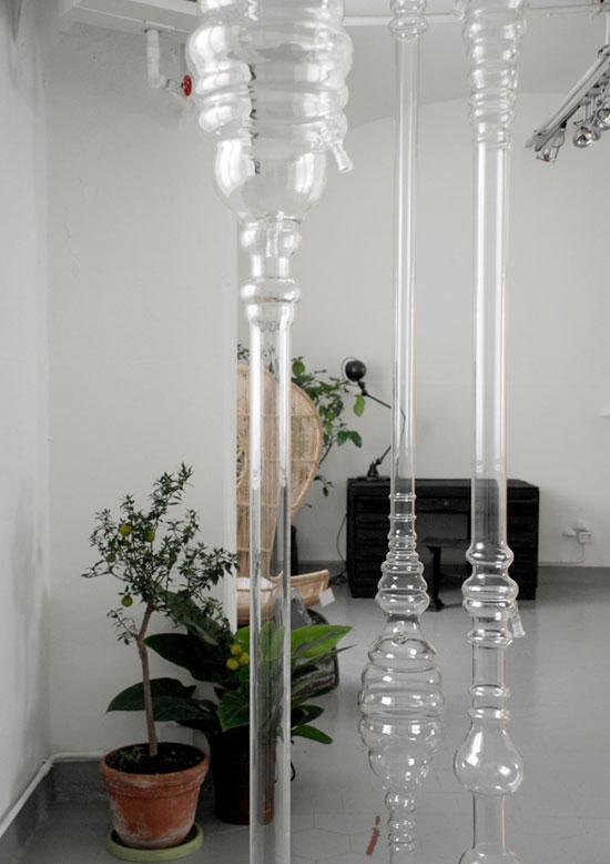 Aylin Langreuter oggetti di pregiudizi, 2007 vetro soffiato a bocca