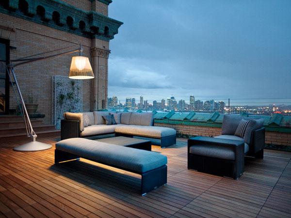 Super Archimoon outdoor, di Philippe Starck per Flos