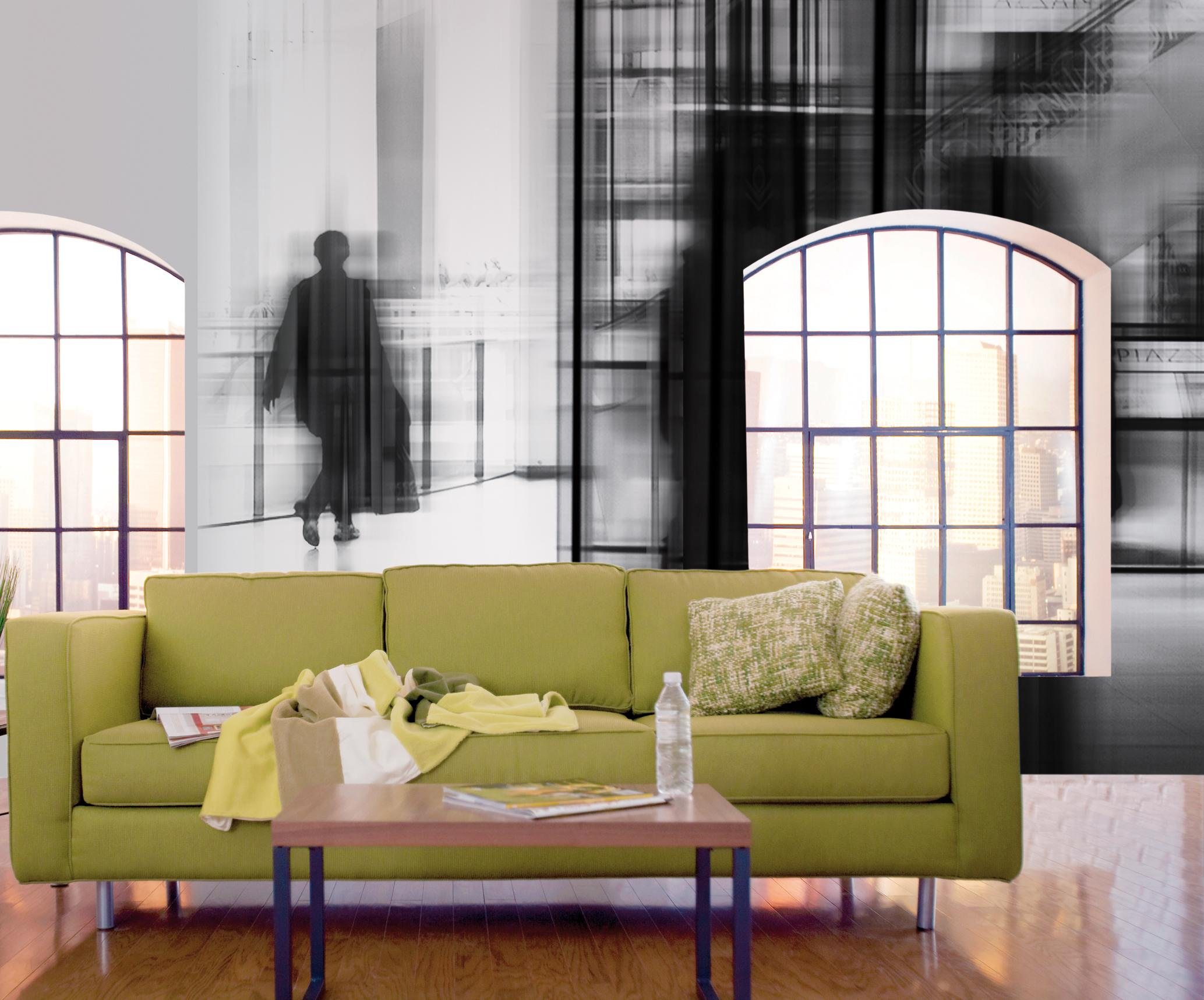1001Glance Linea Jwall passengers Jannelli&Volpi Empty Apartment --- Image by © Royalty-Free/Corbis