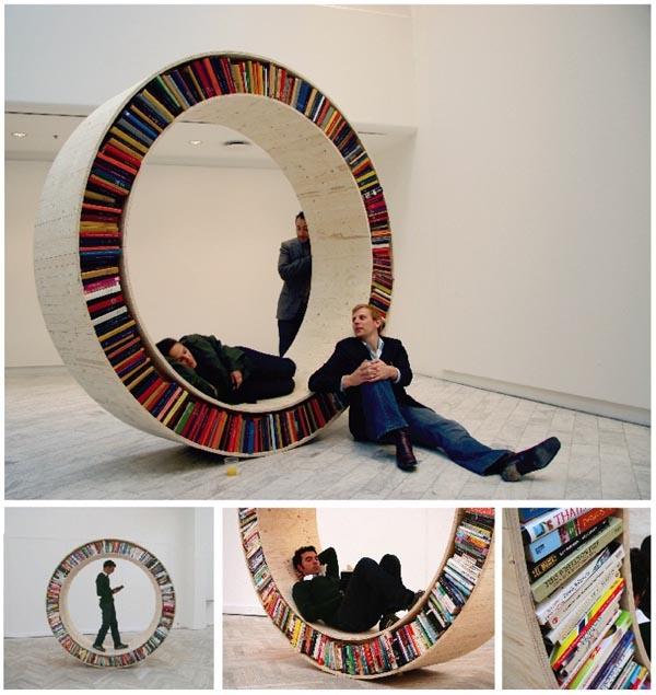 Libreria collezione Archive David Garcia