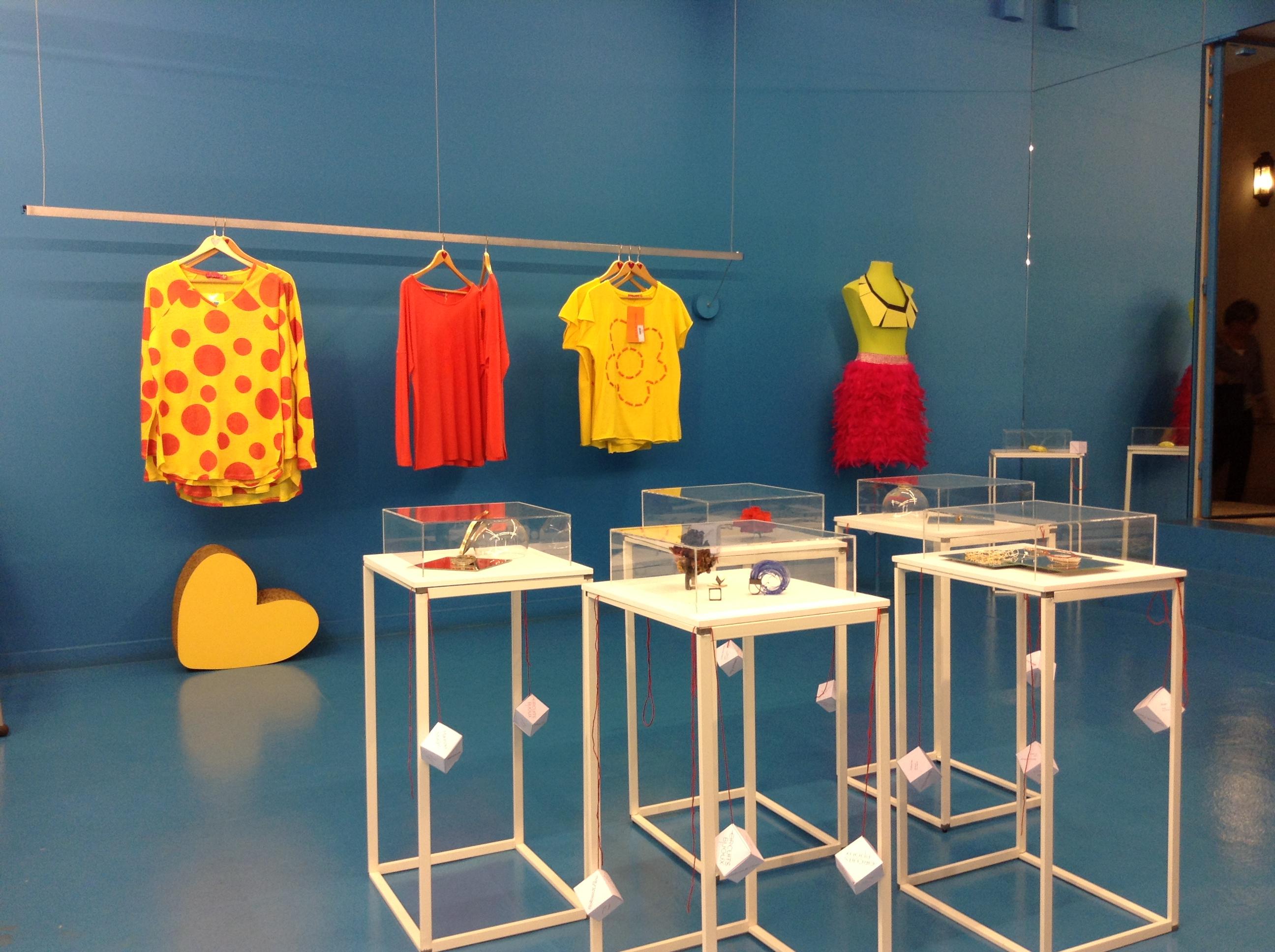 FiloRossoXParis: « Circuits Bijoux » boutique  «Agatha Ruiz de la Prada»
