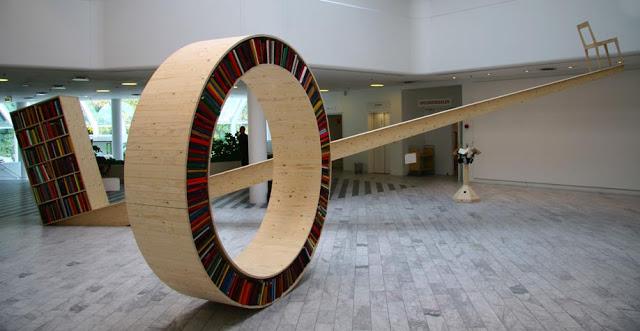 Libreria collezione Archive David Garcia Installazione