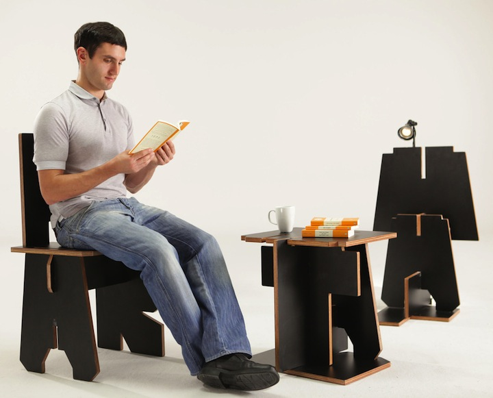 ALPHABET FURNITURE DDB Group