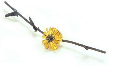 Jan Yager, Chicory Blossom Brooch