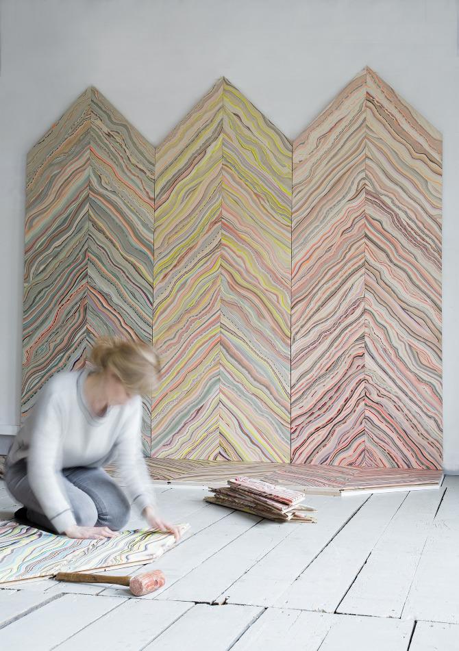 Snedker studio: Marbelous - Wood Refraction