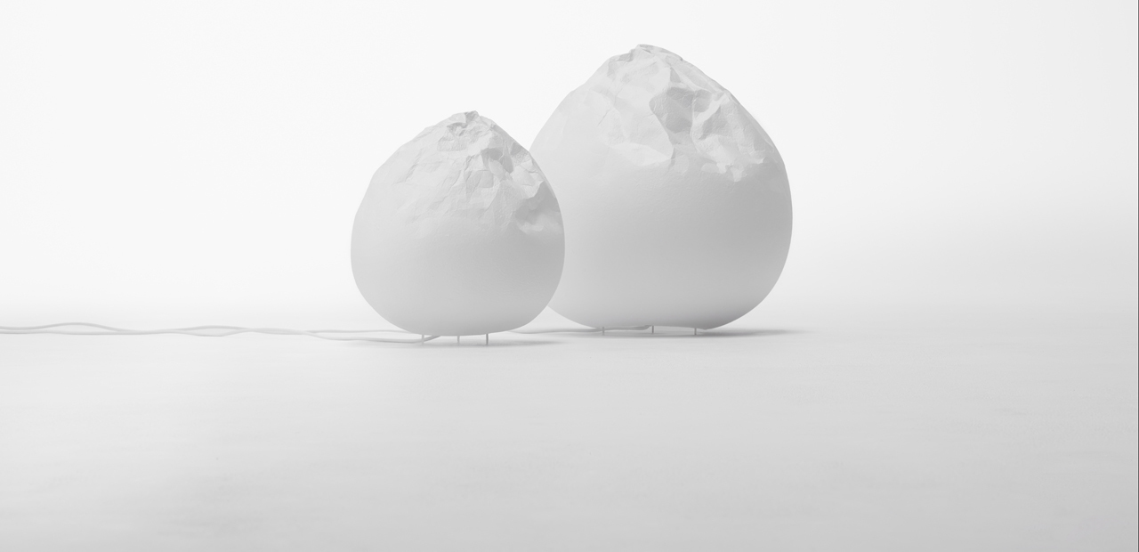Washi Lamp di Nendo