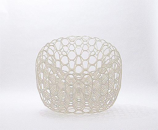Filigree paper chair: by Ryuji Nakamura