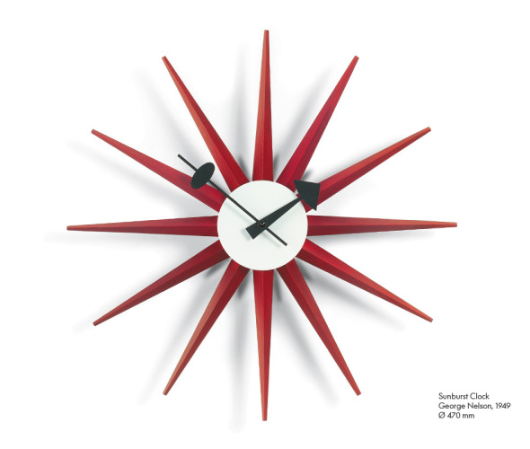 Wall Clock di George Nelson Vitra