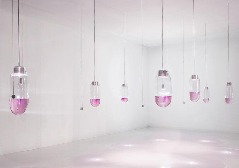 Perrier-Jouët presenta phare n º 1-9 di Heijdens Simon a Design Miami image © charles emerson