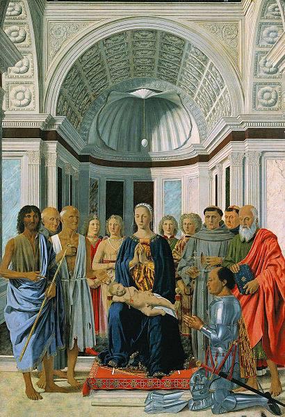 """""""Pala di Brera"""", Piero della Francesca - 1472"""