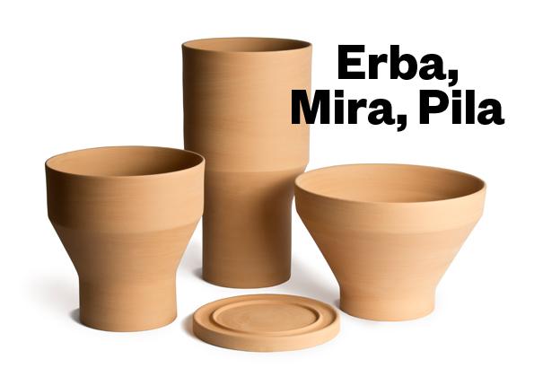 Erba Mira e Pila by Giulio Iacchetti