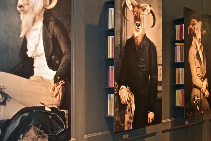 Bel-Ami, Radolphe, Danteset Lady C. Libreira a muro