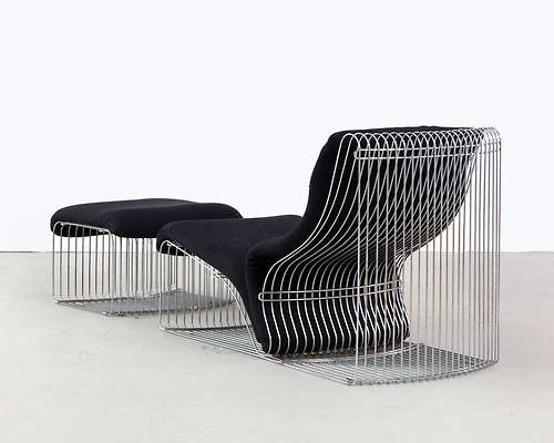 Pantonova, Fritz Hansen, Verner Panton chaises-longue-model-125T