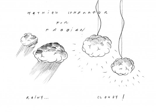 Cloudy di Fabbian designer Mathieu Lehanneur