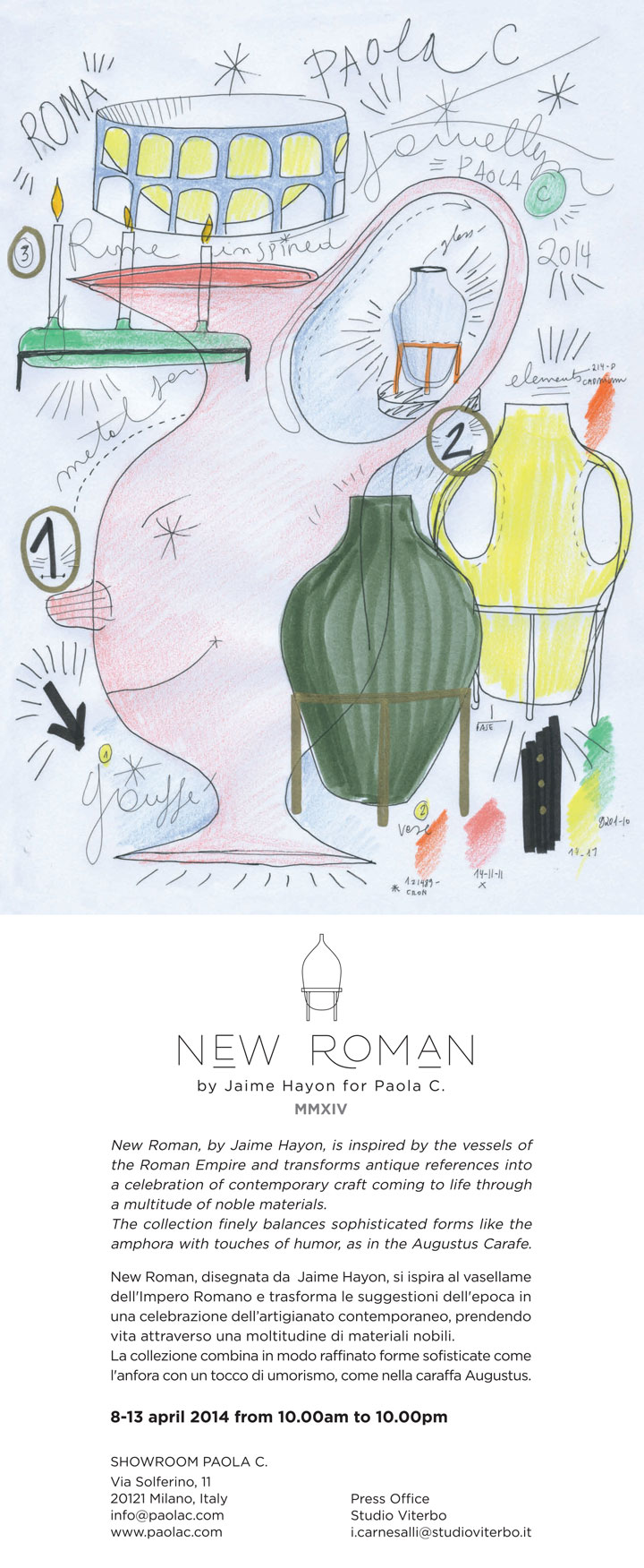 New Roman Jaime Hayon Paola C.