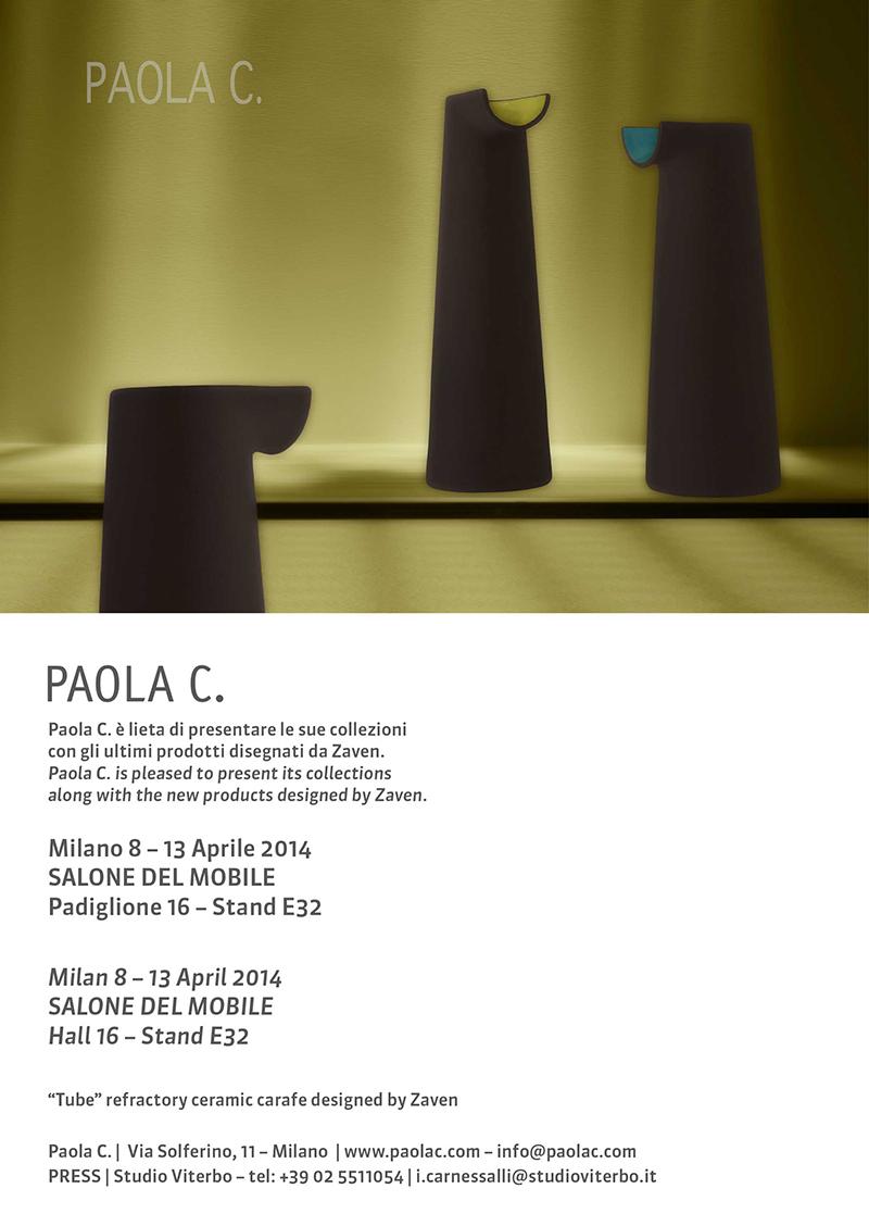 PAOLA C. invito I Saloni 2014