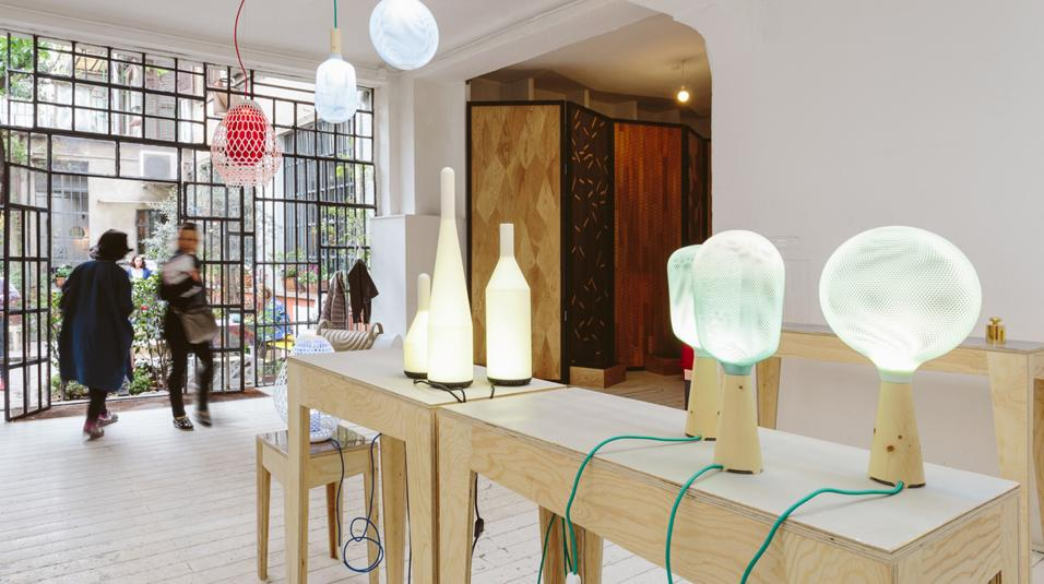 collezione di lampade Exnovo