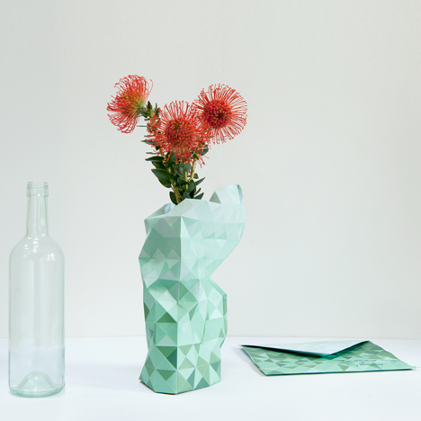 Paper Vase by Pepe Heykoop
