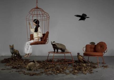 Cageling  ONTWERPDUO Garden Of Eden