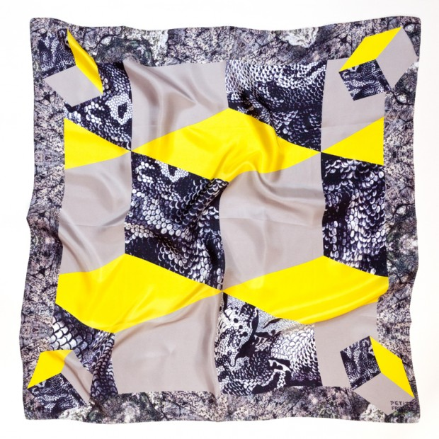 I Foulard Abstraction di Constance Guisset per Petite Friture BEAUNIS