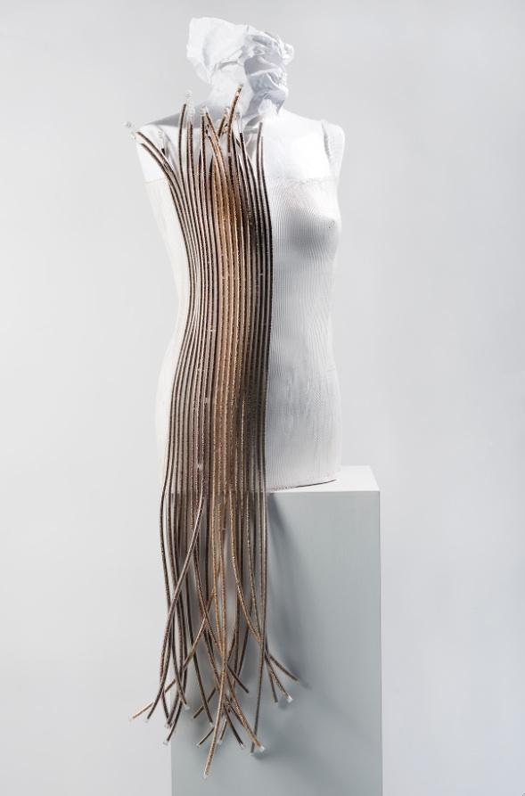 Silvia Beccaria SEMINUDA Abito scultura