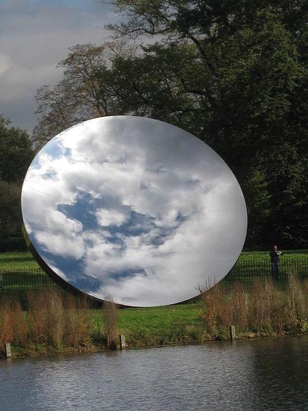 Anish Kapoor Sky Mirror, Kensington Gardens, London,