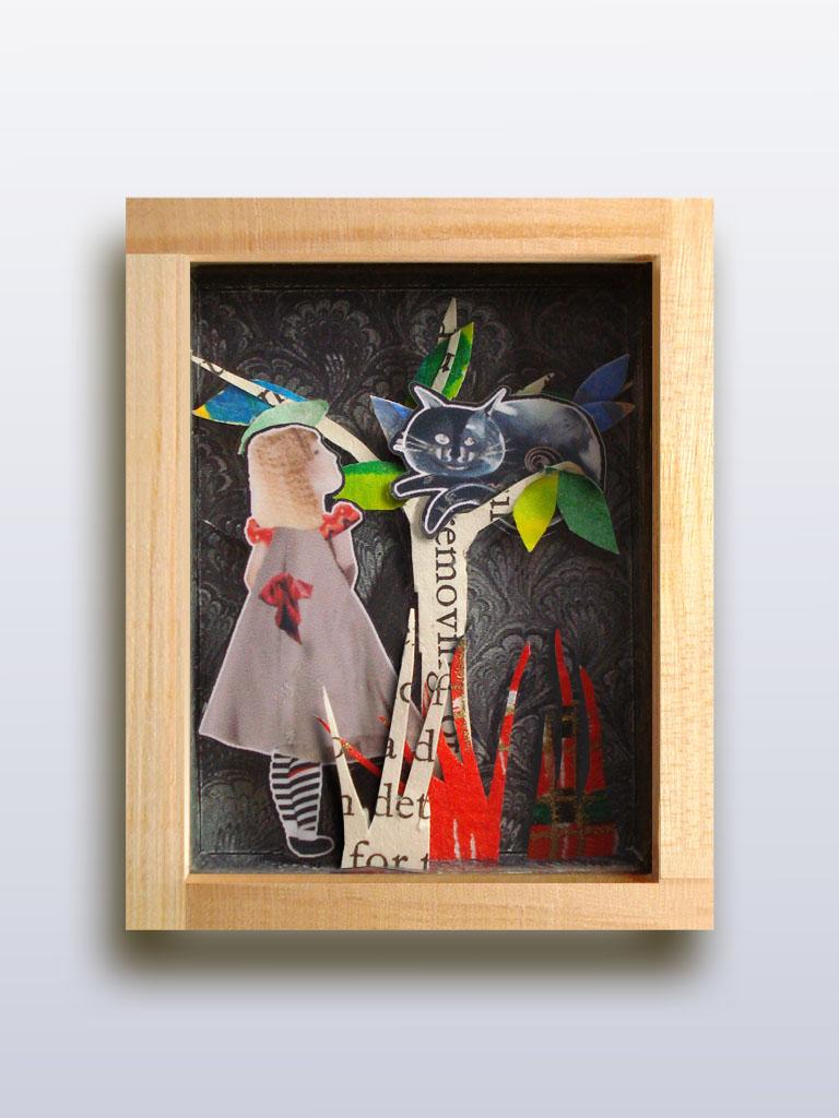 ORTIZ-GADLER  Gioielli Contemporanei Spilla Alice e il Gatto