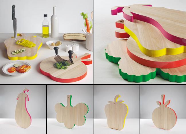Vege_Table design Alessandra Baldereschi taglieri