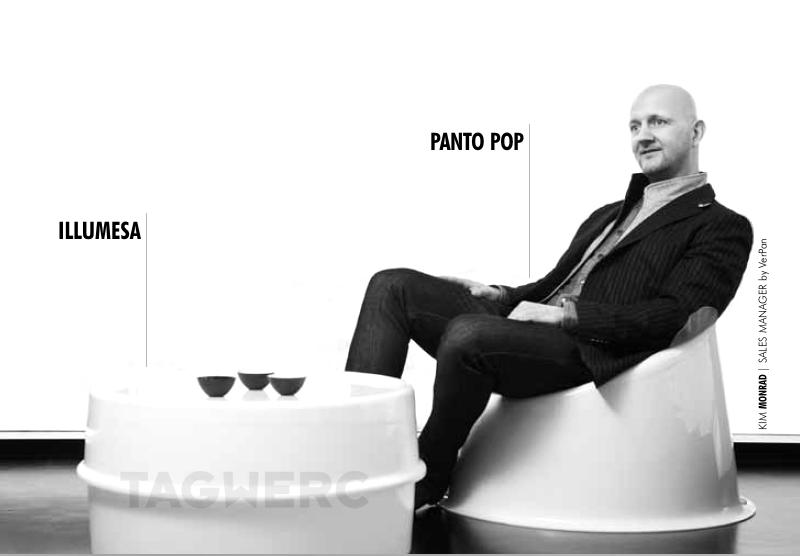 Panto Pop design verner Panton per Verpan