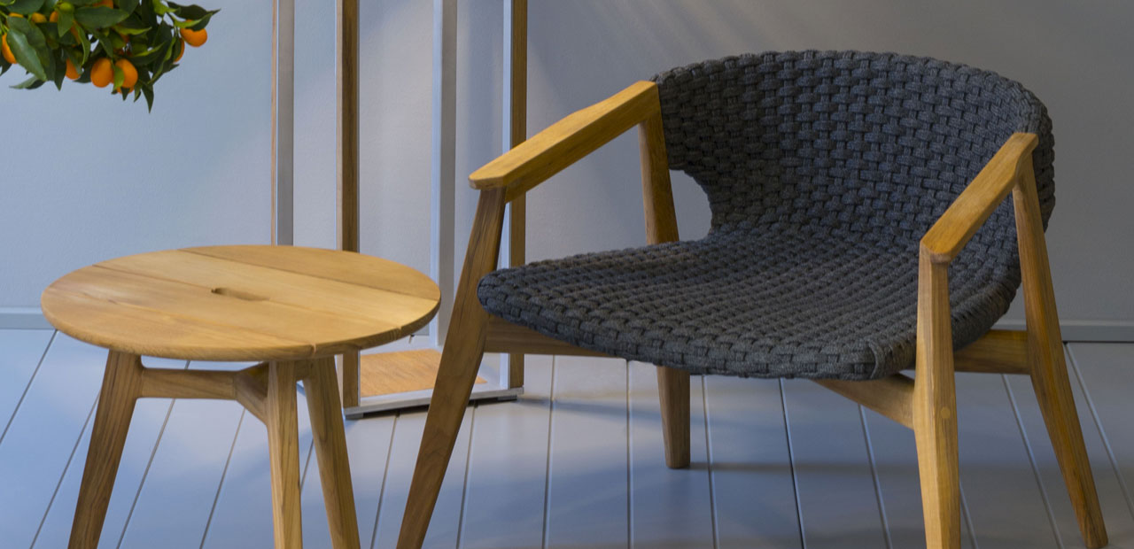 collezione knit firmata da patrick norguet per ethimo arredo e convivio. Black Bedroom Furniture Sets. Home Design Ideas