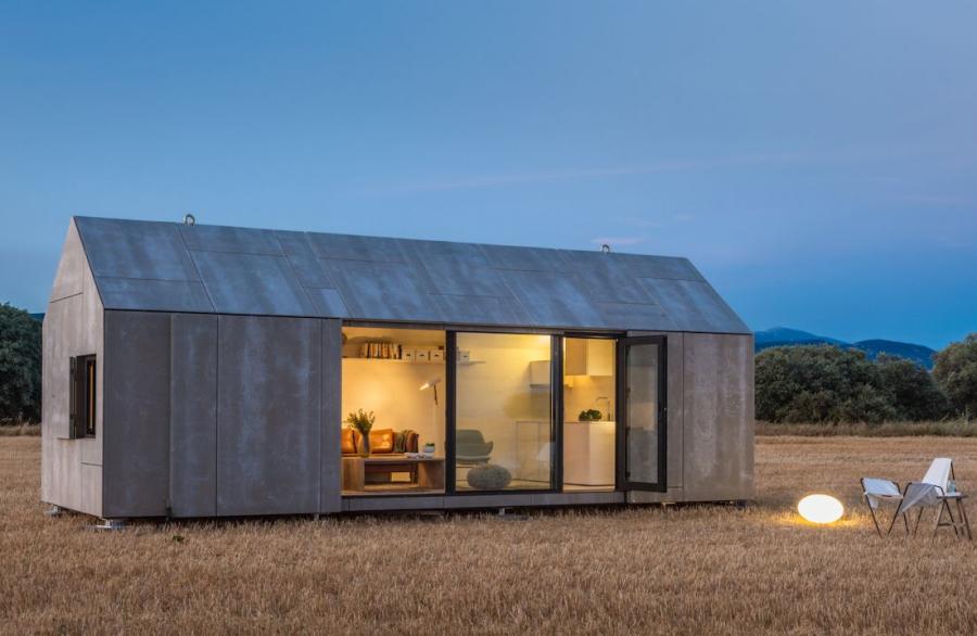 Studio Ábaton Arquitectura Casa Transportable Serie ÁPH80