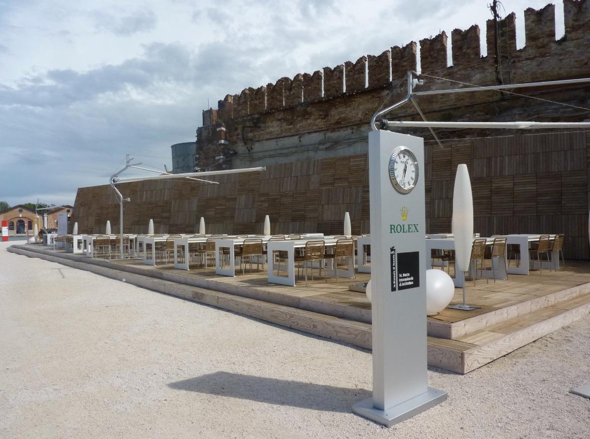 14° Mostra Internazionale di Architettura della Biennale di Venezia  sistemazione esterna photo MGC