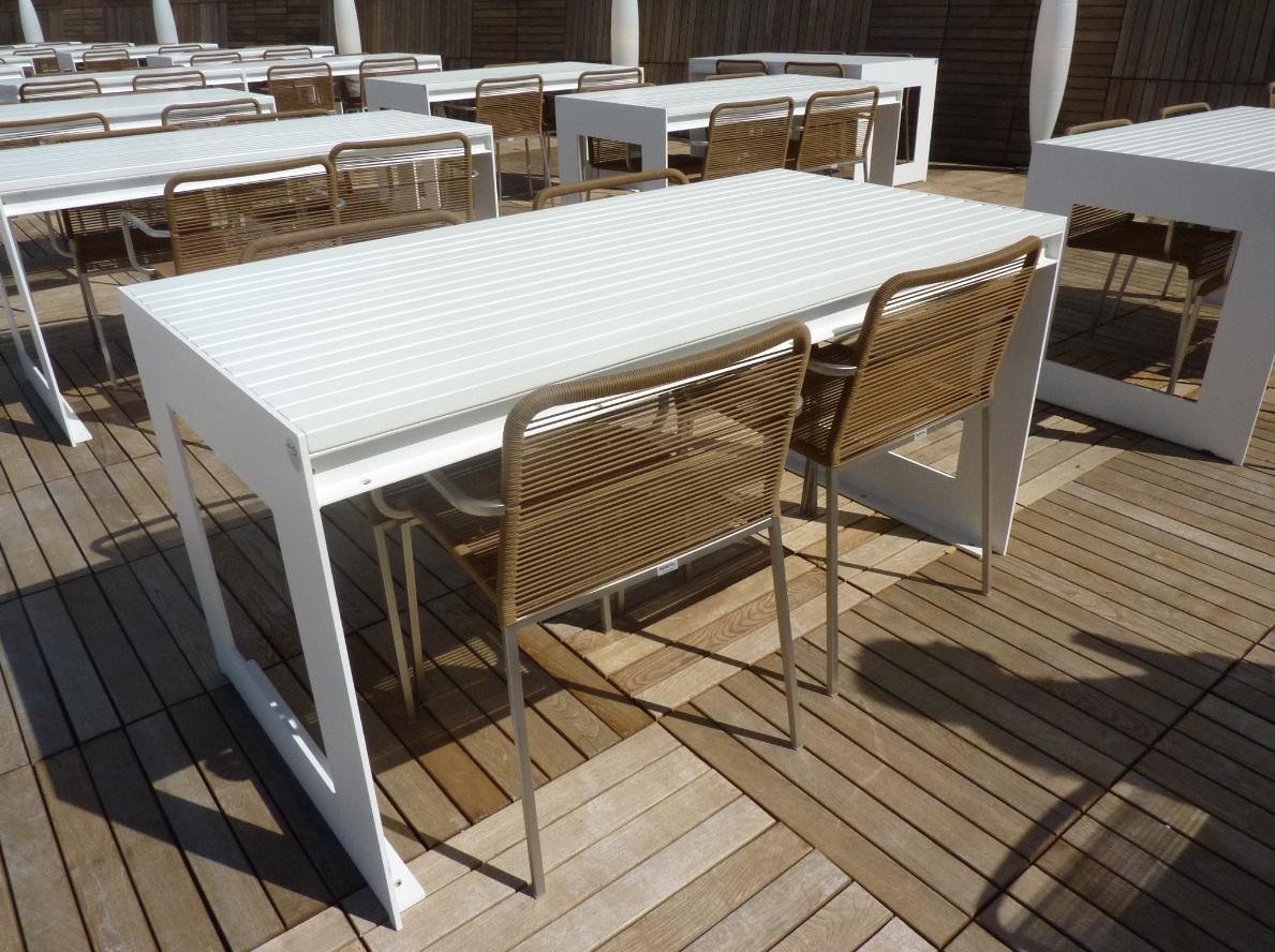 14° Mostra Internazionale di Architettura della Biennale di Venezia  sistemazione esterna sedie ARIA photo MGC