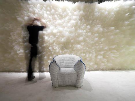 Moroso Panna chair, Tokujin Yoshioka