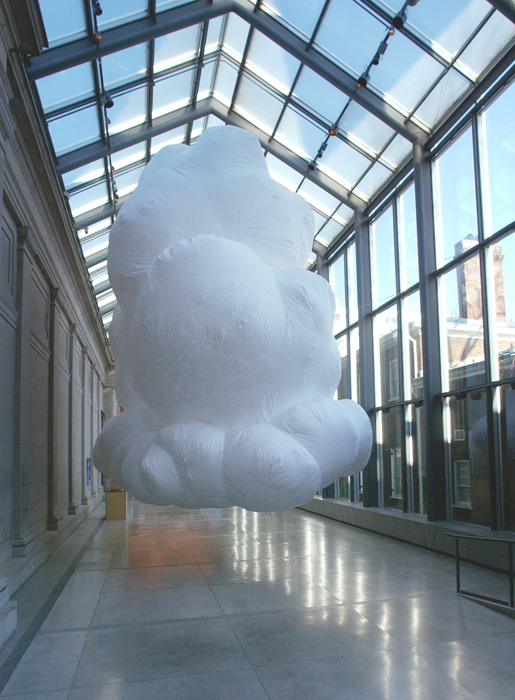 Cloud istallzione di Max Streicher